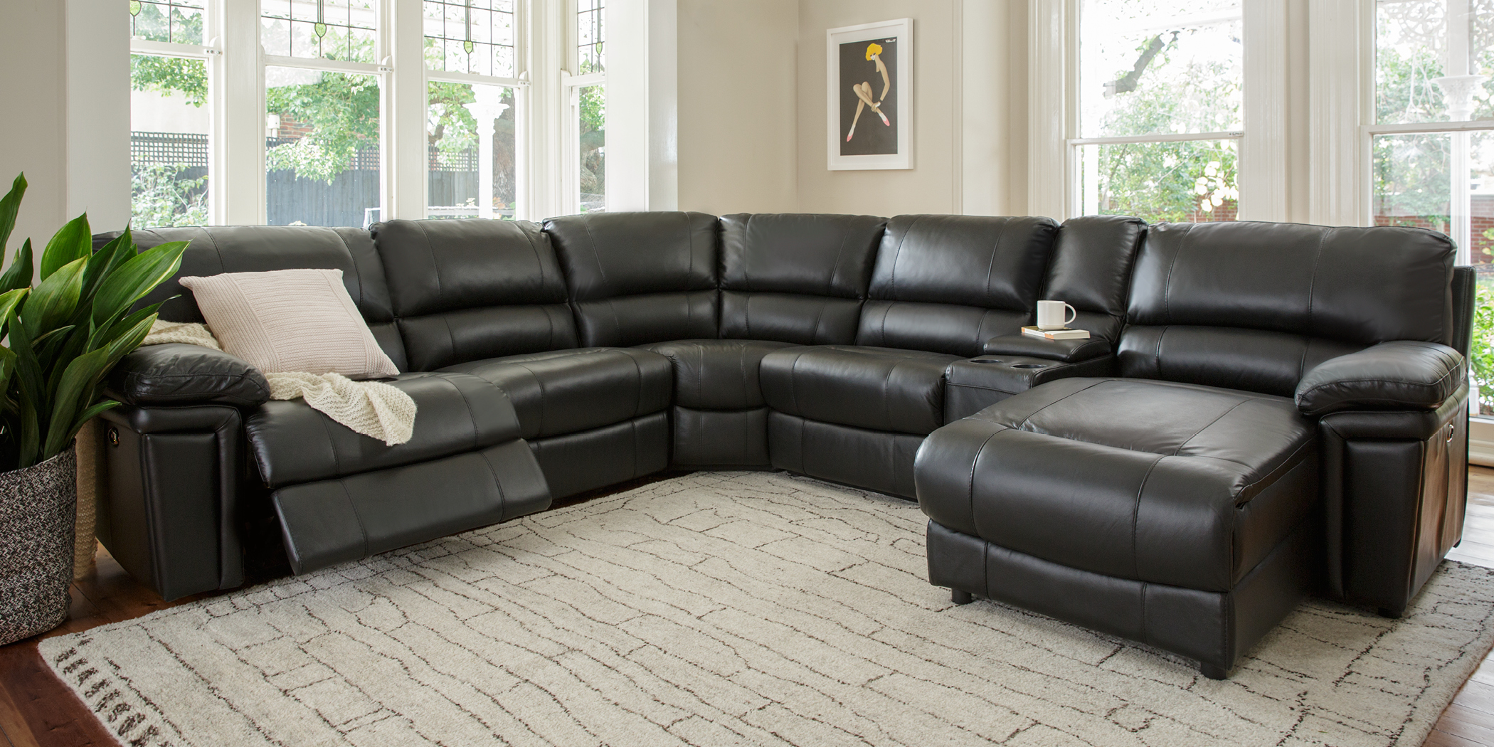 Emmerson Leather Recliner Lounges